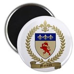 "MOREAU Family Crest 2.25"" Magnet (10 pack)"