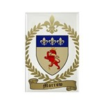 MORROW Family Crest Rectangle Magnet