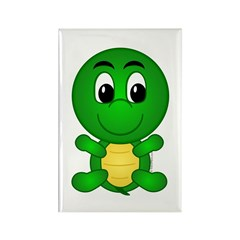 Tommy The Turtle Rectangle Magnet