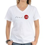F-100 Women's V-Neck T-Shirt