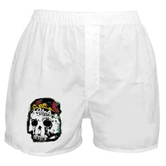 Day of the Dead Skull Boxer Shorts