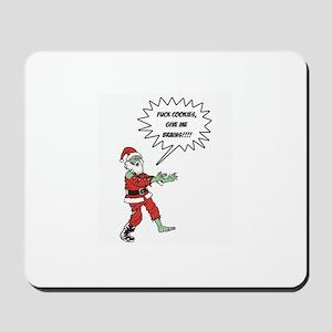 Zombie X-Mas Mousepad