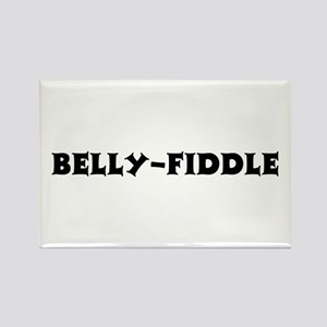 Belly-Fiddle Rectangle Magnet