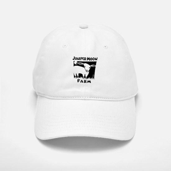 B&W Juniper Moon Farm Baseball Baseball Cap
