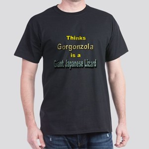 Thinks Gorgonzola is a Giant Dark T-Shirt
