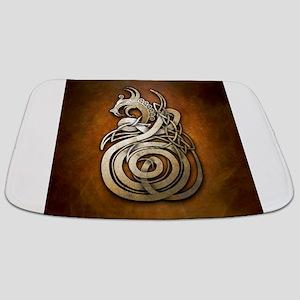 Norse Dragon Bathmat
