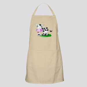 Cute Cow Milk Apron