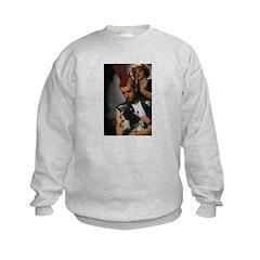Hairdresser Mohawk & Dog Sweatshirt