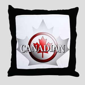 I be Canadian Throw Pillow