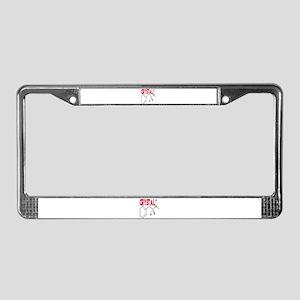 CRYSTAL METH License Plate Frame