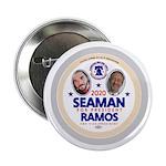 """Seaman-Ramos 2.25"""" Button"""