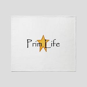 Prim Life Throw Blanket