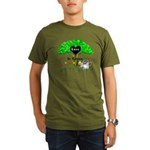 Love Is Green Organic Men's T-Shirt (dark)