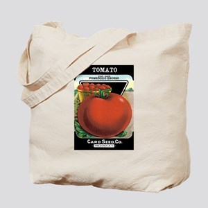 Vintage Tomato Grocery Bag