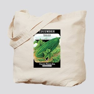 Vintage Cucumber Grocery Bag