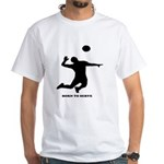 Extreme Volleyball White T-Shirt