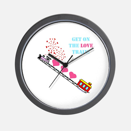 ~Love Train Design 002~ Wall Clock