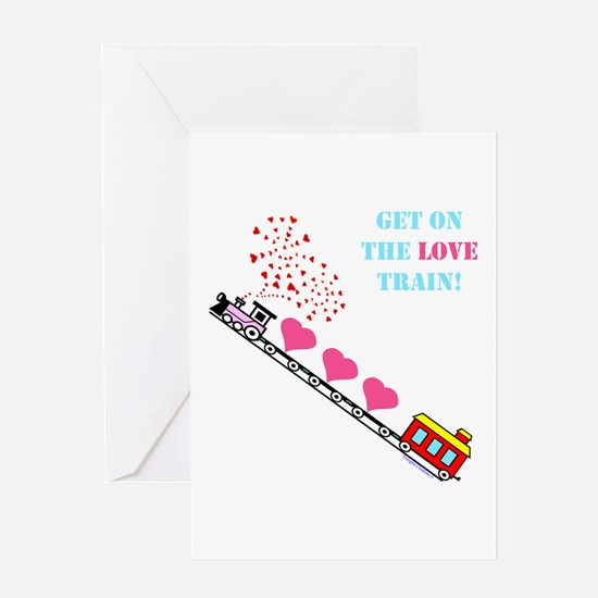 ~Love Train Design 002~ Greeting Card