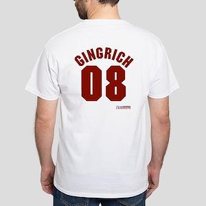 Newt Gingrich White T-Shirt
