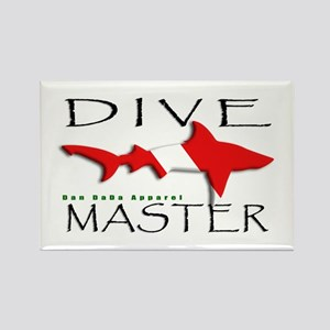 Dive Master Rectangle Magnet