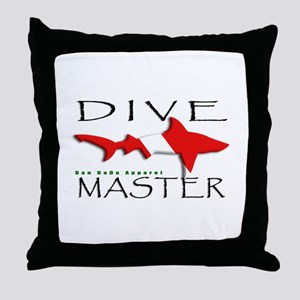 Dive Master Throw Pillow