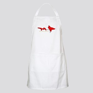 Shark Diving Flag Apron