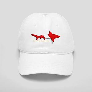 Shark Diving Flag Cap