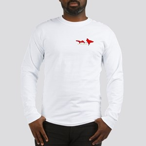 Shark Diving Flag Long Sleeve T-Shirt