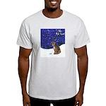 Cat Carol Ash Grey T-Shirt