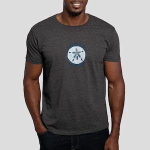 Edisto Island SC - Sand Dollar Design Dark T-Shirt
