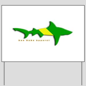 Shark Nitrox Diving Flag Yard Sign