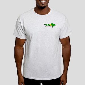 Shark Nitrox Diving Flag Light T-Shirt