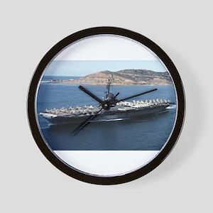 CV 16 Ship's Image Wall Clock