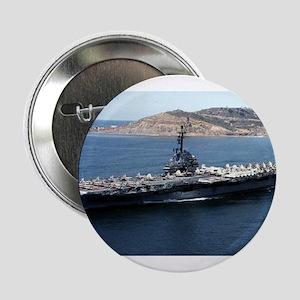"""CV 16 Ship's Image 2.25"""" Button"""