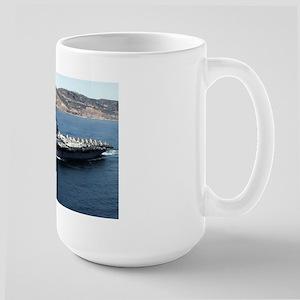 CV 16 Ship's Image Large Mug