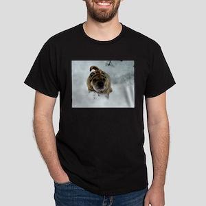 Snow Shar-Pei Dark T-Shirt