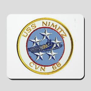 USS Nimitz CVN 68 Mousepad