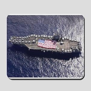 USS Nimitz Ship's Image Mousepad
