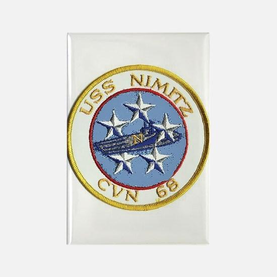 USS Nimitz CVN 68 Rectangle Magnet