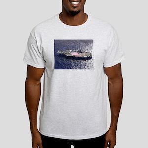 USS Nimitz Ship's Image Light T-Shirt