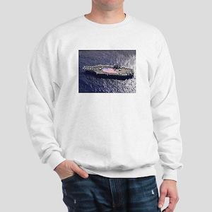 USS Nimitz Ship's Image Sweatshirt