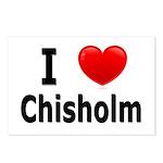 I Love Chisholm Postcards (Package of 8)