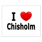 I Love Chisholm Small Poster
