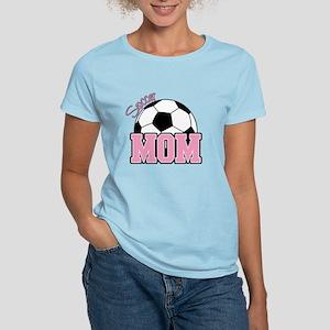 Soccer Mom (Pink) Women's Light T-Shirt