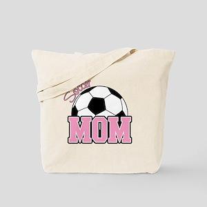 Soccer Mom (Pink) Tote Bag