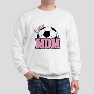 Soccer Mom (Pink) Sweatshirt