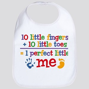 Fingers and Toes Bib