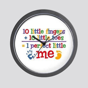 Fingers and Toes Wall Clock