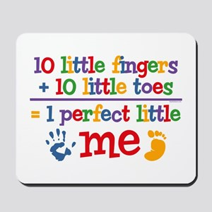 Fingers and Toes Mousepad