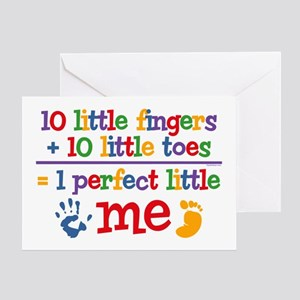 Fingers and Toes Greeting Card